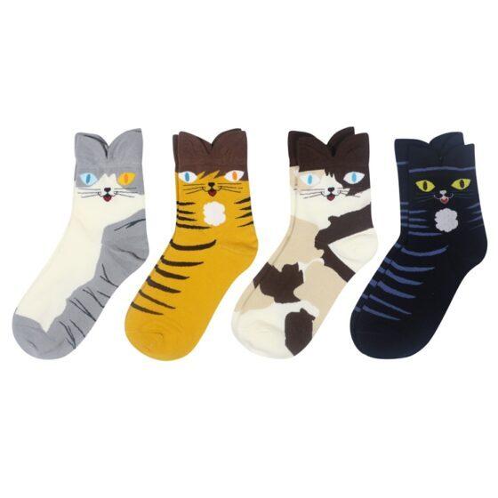 Crazy 3D kattesokker